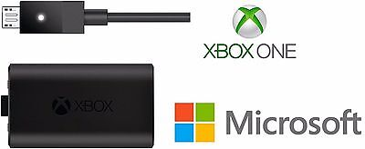 100% Official Genuine Microsoft Xbox One Play And Charge Kit (Bulk Packaging)