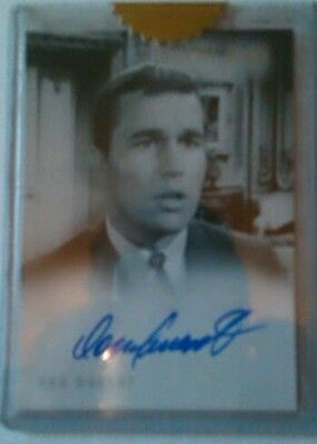 The Twilight Zone Series 4 Don Durant Autograph card (A-70) (Archive)