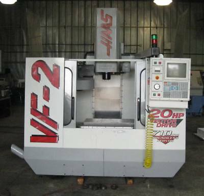 1999 HAAS VF-2.  GEARBOX, 30 x 16 TRAVELS, 4th AXIS WIRED, P-COOL, more.