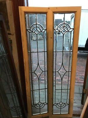 SG 1654 2available price separate antique all beveled glass transom or sideligh…
