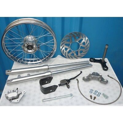 Front Forks Set - Modernisation Disc Brake - (Jawa 350/634)