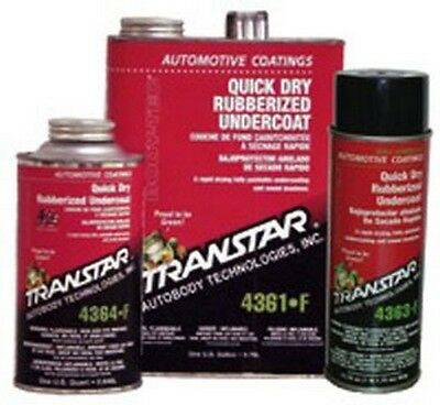 Quick Dry Rubberized Undercoating, Quart TRE-4364-F Brand New!