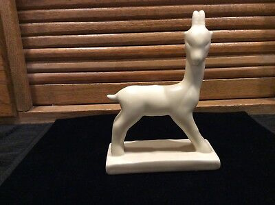 """Rookwood Goat Paperweight 1931 6 1/8"""""""