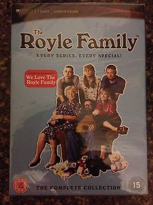 The Royle Family The Complete Collection Dvd Box Set New & Sealed Uk Region 2