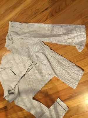 Men's JC Penney's 2 pc Pajamas Long Sleeve Cotton Blend Small 34-36