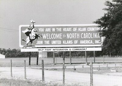 Segregation Sign B&W Photo In A Frame