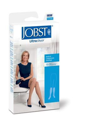 Jobst UltraSheer 15-20 Kn/Hi | Closed Toe | Black | Stockings
