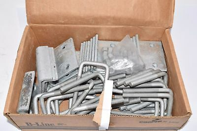 Lot of 25 NEW Cooper B-Line B441-22HDG Beam Clamp 3/4'' Flange Hex nut U-Bolt St