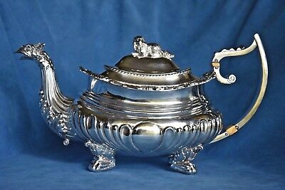 Smart George Iii Sterling Silver Octagonal Shaped Cake Basket 1802 United Kingdom