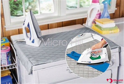 Ironing Mat Portable Compact Ironing Board Travel Dryer Washer Iron Anywhere AU