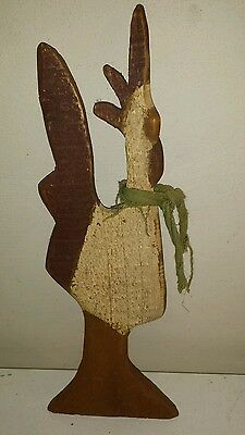 Wooden Chicken Hanging Decor For Kitchen or Living Room