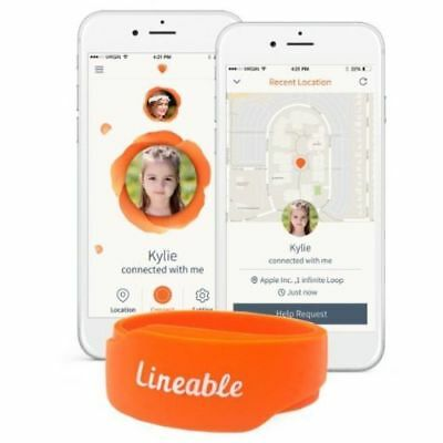 Lineable Smart Wrist Band Tracker Locator for Kids Protection & Safety