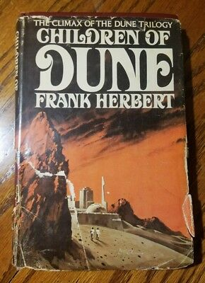 Children of Dune by Frank Herbert Hardcover Book Club Edition