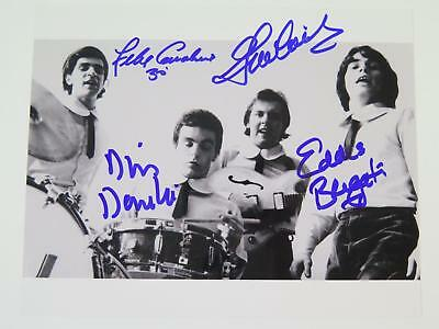 The Rascals THE YOUNG RASCALS Signed Autograph 8x10 Photo by All 4 Members