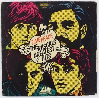 "The Rascals THE YOUNG RASCALS Signed Autograph ""Time Peace"" Album LP by All 4"