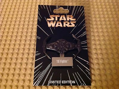 Disney Star Wars Series Limited Edition Tie Fighter Pin w/ Stand New Release!