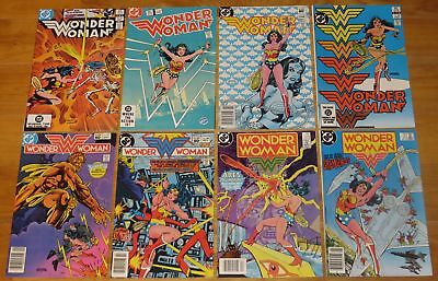 1983-1987 WONDER WOMAN Lot 16 Books No. 301 302 304 305 307 308 310 311 312++ NR
