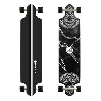 "BLACKHAWK 41x9.75"" 9Ply Maple Deck ABEC-7 Longboard Cruiser Down Hill Skateboard"