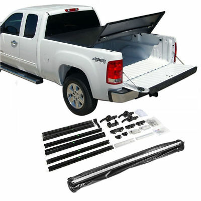 Fit 83-11 Ford Ranger Regular Cab 6ft Bed Tri-Fold Soft Tonneau Cover Assemble