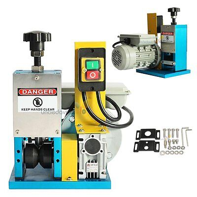 Power Motorized Coaxial Copper Wire Stripping Machine Wire Cable Stripper