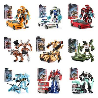 Transformers Bumblebee Optimus Prime 6'' Action Figure Kids Toy Robot Xmas Gifts
