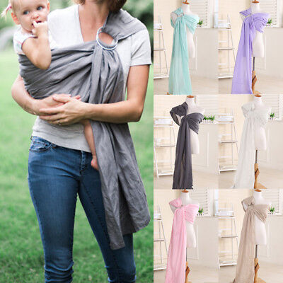 Baby Outdoor Ring Sling Straps Carrier Water Mesh Fast Drying Sling Wrap New B55