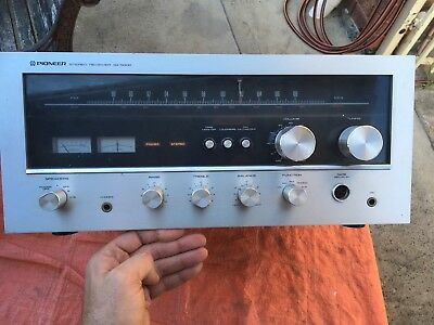 Vintage Pioneer SX-5000 Stereo AM/FM Receiver 1970's made in Japan Semi Tested