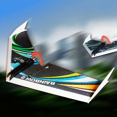 DW HOBBY Upgraded Rainbow Flying Wing Ⅱ1000mm Wingspan EPP RC Airplane KIT
