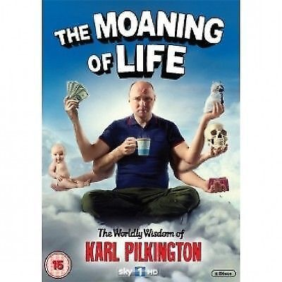 The Moaning Of Life - Series 1 - Complete (DVD, 2013, 2-Disc Set)