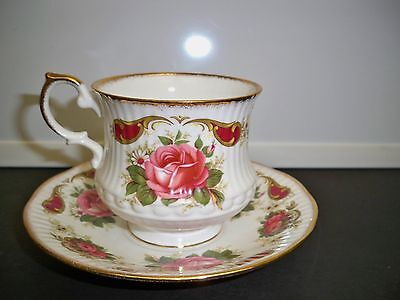 Queen's Cup And Saucer Fine Bone China Rosina China Co. England