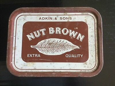Nut Brown Tobacco Tin