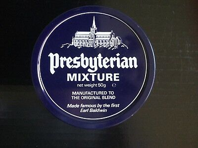 Presbyterian Mixture Tobacco Tin