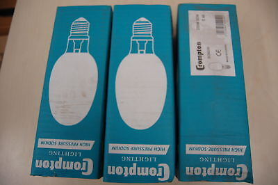 Crompton 3 pack of SON250 sodium bulbs
