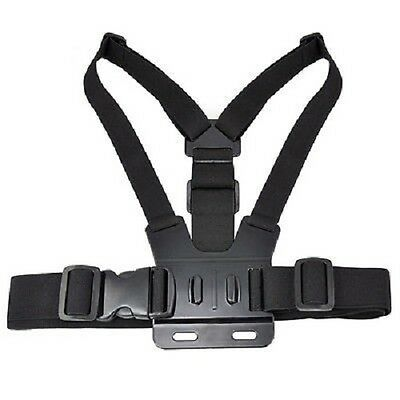 Adjustable Elastic Chest Strap Harness Mount for GoPro HD Hero 2 3+ 4 5 6 Camera