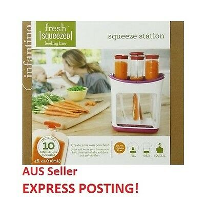 Infantino Squeeze Station (EXPRESS POSTING)