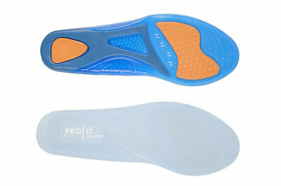 Pro11 Wellbeing anti shock gel insoles for sports gym running active