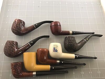Judd's Lot of 8 Nice Old Used Dr. Grabow Pipes