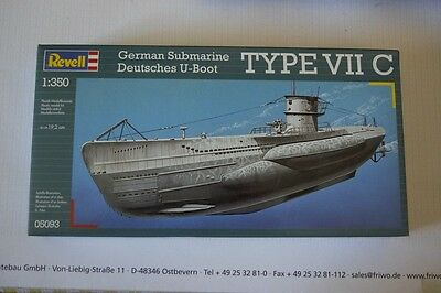Revell 05093 U-Boot Type VII C