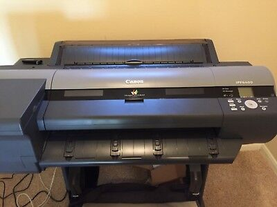 Canon imagePROG ipf6400 24 inch Large Format Printer in EXCELLENT CONDITION.