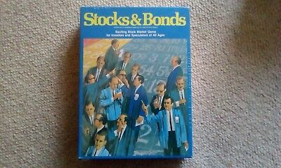 Vintage - Stocks & Bonds - Stock Market Game  NEW & SEALED ( ORIGINAL SHRINK WRA
