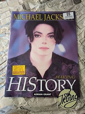 Michael Jackson - Making HIStory by Adrian Grant - Magazine Reissue 2009