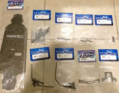 HYPER 7 PARTS Decal/Sticker For Body #TQ-D1 (RC-WillPower