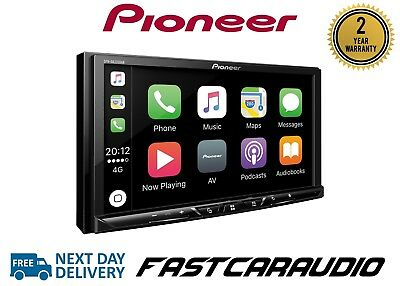 pioneer sph da230dab 7 double din usb bluetooth apple carplay free dab aerial eur 479 80. Black Bedroom Furniture Sets. Home Design Ideas