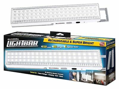 "LIGHT BAR by Bell + Howell 60 LED 16.5"" Rechargeable Weather-Proof Home and G..."