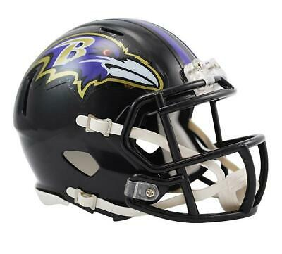 NEW Baltimore Ravens NFL Riddell Replica Speed Gridiron Helmet