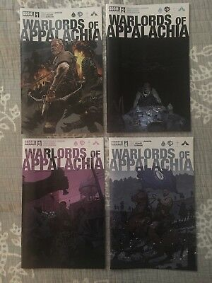 WARLORDS of APPALACHIA #1-4 Complete Set VF