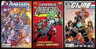 Masters Of The Universe 1, Savage Dragon #102 & G.I. Joe #12 Invincible Preview