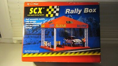 Scx Rally Box Wrc 88400 Rally Subaru -Ninco-Scalextrics-Spirit-Fly-Slotcar