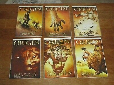 Wolverine: The Origin #1 2 3 4 5 6 Complete Set Nm+ Classic Series A Must Have!!