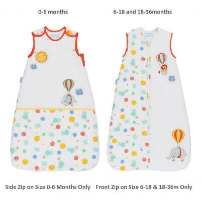 Buy Drift Off 2.5 Tog Grobag Baby Boy Girl Neutral Sleeping Bag with Embroidery